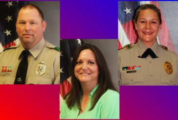 Sheriff's employees recognzed for random act of kindness