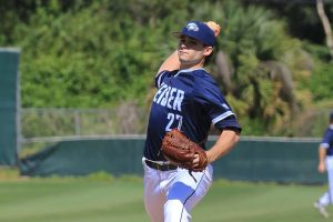 Flower Mound native Steven Bruce was signed by the red-hot Texas Rangers. (Photo courtesy Keiser University )
