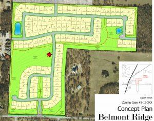 belmont ridge site plan
