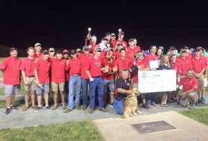 The Marcus High School Clay Target team won the state championship. (Submitted photo)