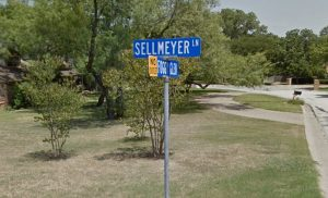 sellmeyer road sign