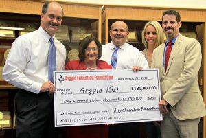 AEF grant Argyle ISD 8-22-16
