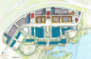 Site Plan for Circle T Ranch in Westlake, Texas being developed by Hillwood and The Howard Hughes Corporation (Photo: Business Wire)