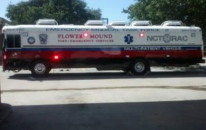 FMFD flower mound emergency task force vehicle