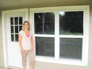 Holly Royer with Universal Windows Direct enjoys helping local residents improve their homes.