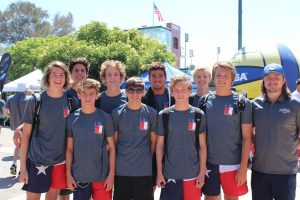 The Jaguar water polo team competed in the USA Water Polo National Junior Olympics.