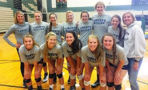 Liberty Christian volleyball coaches and players optimistic about upcoming season. (Photo: Liberty Christian School)