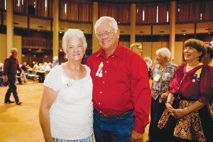 JoAn and Tommy Meyer of Double Oak say a little do-si-do is good for the body and soul. (Photo by Helen's Photography)