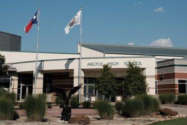 Construction on Argyle High School addition is progressing