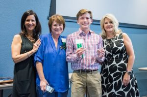 Downing Middle School's Mark Vassar was named Student of the Month.