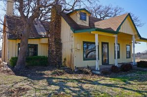 Gibson-Grant Cabin in Flower Mound.