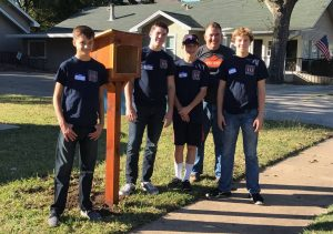 The Argyle Young Men's Service League has volunteered to assist the Little Free Pantry program in Denton.