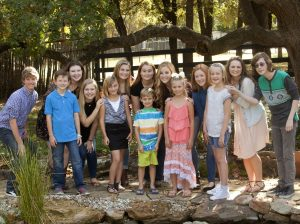 Children from southern Denton County affected by Type 1 diabetes offer support and encouragement to each other as they battle the silent disease. Pictured from left: Troy Barnes, Cody Lightfoot, Lexi Quilty, Anastasia White, Sophie Peters, Lauryn Harding, Grant Laughlin, Sarah Halldorson, Izzy Guillem, Sophia Barrera, Bella Zindel, Harlie Rafter, Raegan Pyle, and Randall Gray. (Photo by Helen's Photography)