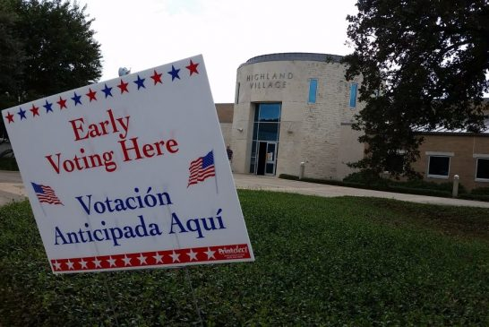 More than half of registered voters in Denton County have voted