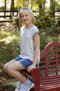 Harlie Rafter of Lantana, 10, was diagnosed with Type 1 diabetes in May 2016. (Photo by Helen's Photography)