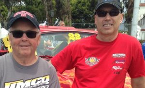 Left to Right: Kent Booth, Team Owner/Driver, Scott Booth, Team VP-Marketing/Driver. Partners in Booth Brothers Racing team.