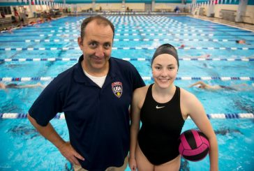 Love of water polo runs in family