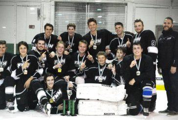 Flower Mound/Marcus varsity hockey team wins championship