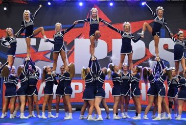 Liberty cheerleaders take state title fourth consecutive time