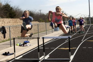 Track and field athletes off to fast starts