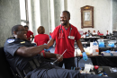 Amid emergency call for blood donors, Red Cross sets up in Flower Mound