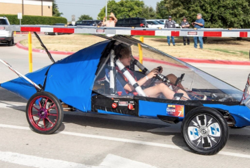 Liberty Christian School solar car shines in national competition