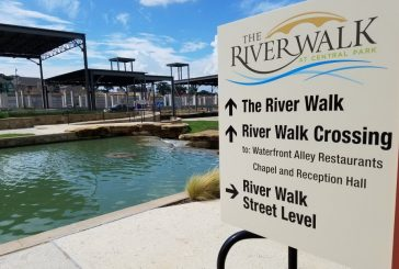 River Walk restaurants taking shape