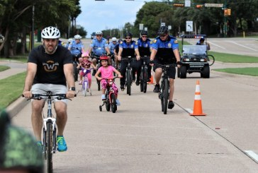 Bike with the Blue in Flower Mound next Saturday