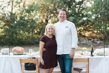 Food-loving couple shares their table