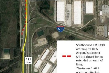 Major change coming to FM 2499 ramp to DFW Airport