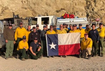 Flower Mound firefighters returning from California wildfire