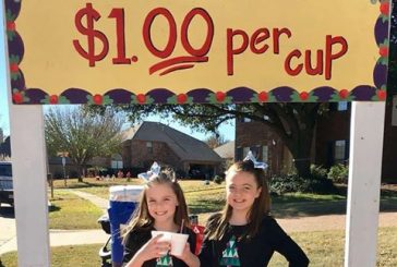 Flower Mound girls raising funds for local families with hot chocolate stand