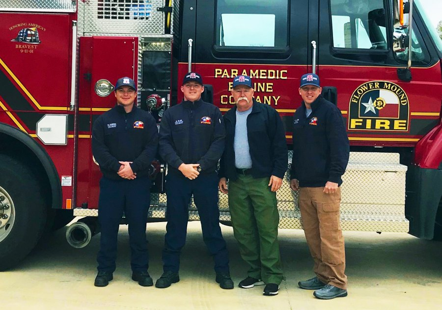 Flower Mound firefighters are heading to California. The Flower Mound Fire Department ...