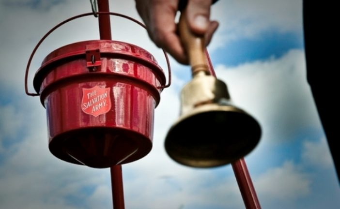 Flower Mound, Highland Village mayors accept red kettle challenge