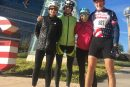 Cycling group leaves no rider behind