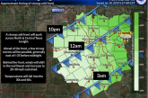 Cold front to pass through Denton County, bringing wind