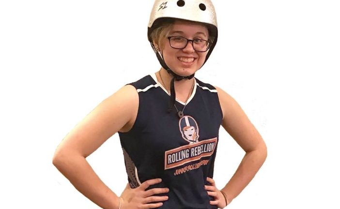Roller derby kids stay on right track