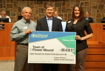 CoServ presents Flower Mound with $80k credit check