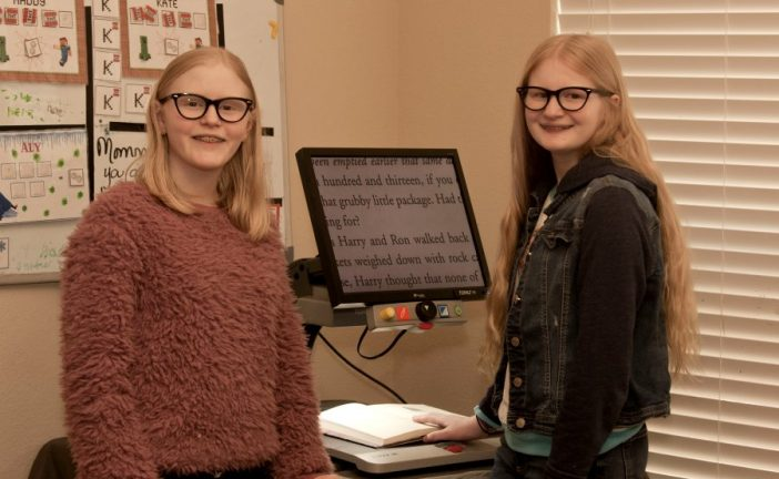 Sisters set sights on vision-enhancing glasses