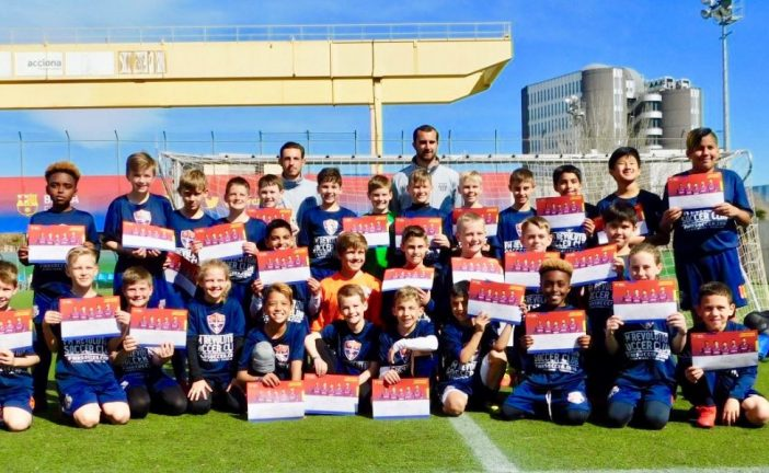 Local soccer club spends spring break playing, touring in Spain
