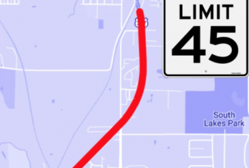Hwy 377 speed limit lowered for construction