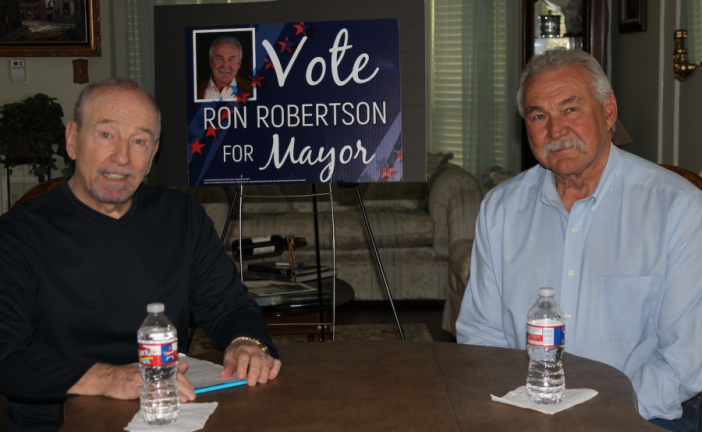 Weir: Ron Robertson running for Copper Canyon mayor