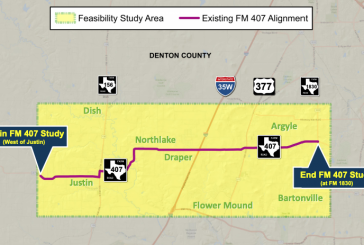 Virtual public meeting to be held for FM 407 improvement study