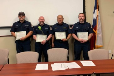 Argyle Fire crew recognized for life-saving efforts