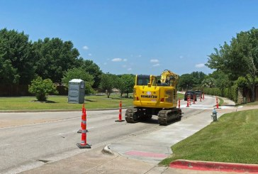 Flower Mound road projects ahead of schedule amid shelter-in-place