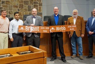 Flower Mound recognizes outgoing Council members