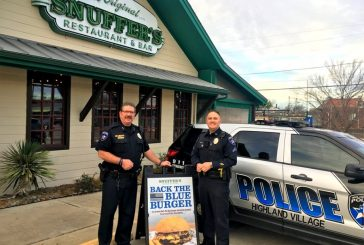 Foodie Friday: Snuffer's Back the Blue Burger