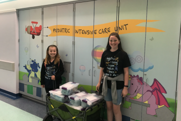 Flower Mound girl organizes donations for parents at children's hospital