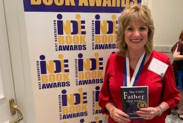 Lantana author's book named a finalist for international award