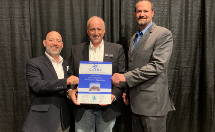 City of Roanoke wins 2019 CLIDE Award